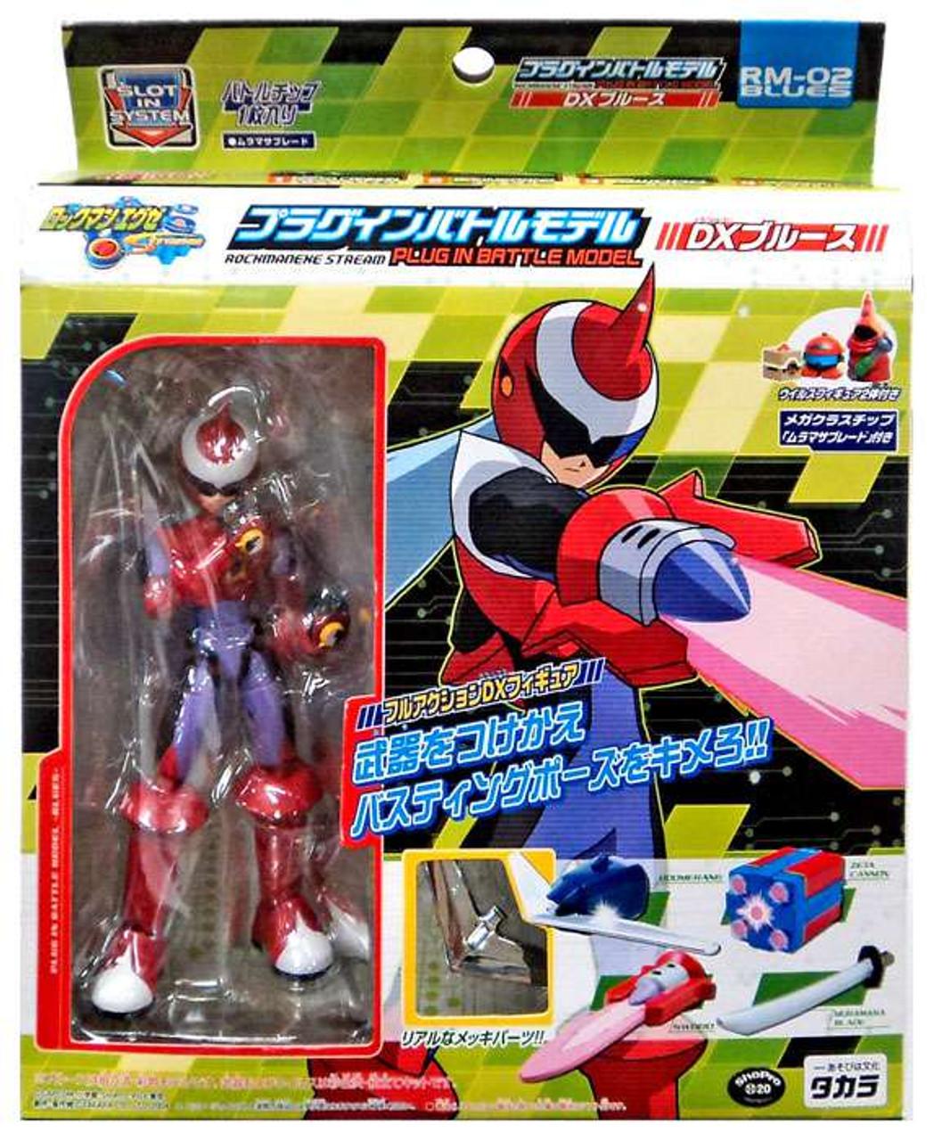 Mega Man NT Warrior Protoman Action Figure RM-02 Takara Tomy