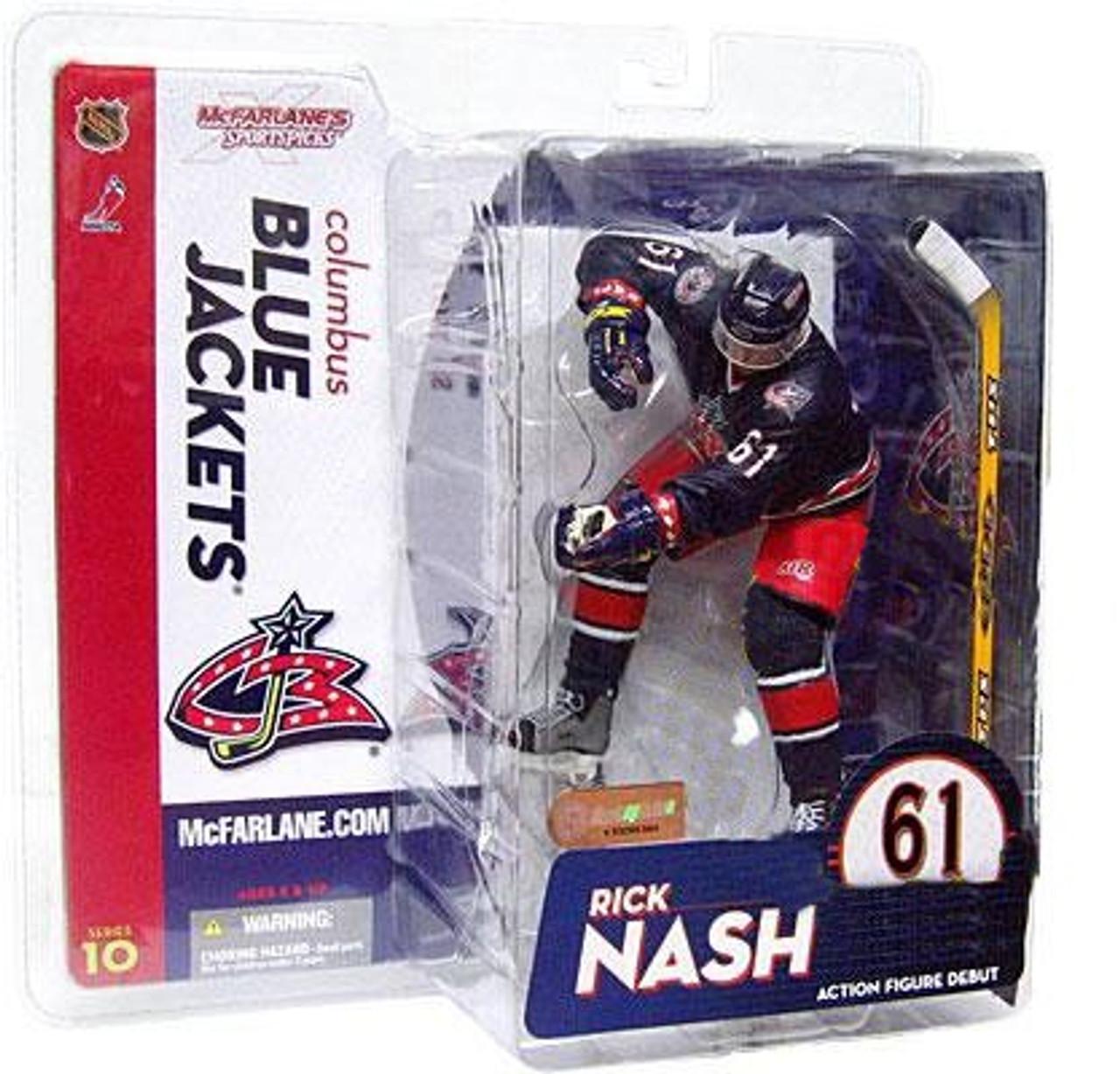 new styles 006e4 30efa McFarlane Toys NHL Columbus Blue Jackets Sports Picks Series 10 Rick Nash  Action Figure [Blue Jersey Variant]