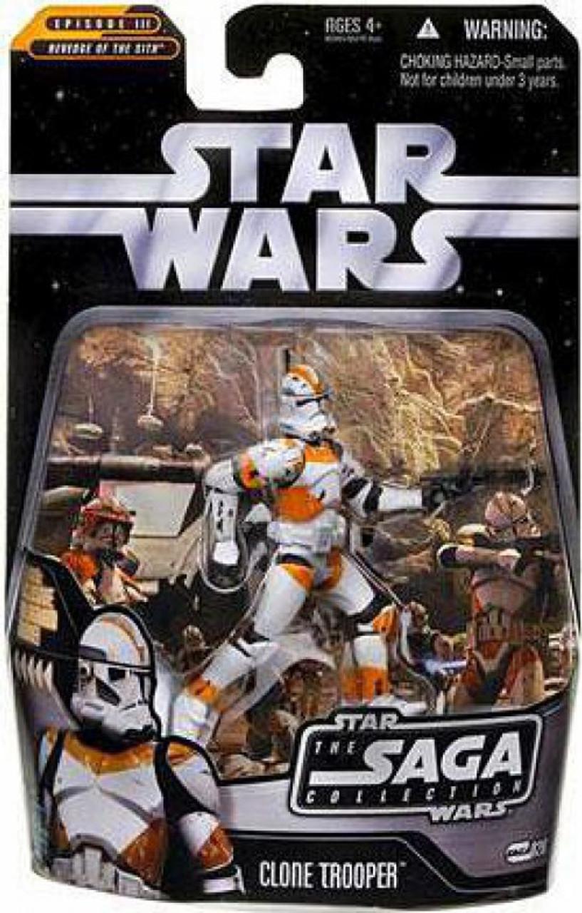 Star Wars Revenge Of The Sith 2006 Saga Collection Clone Trooper 3 75 Action Figure 26 Utapau Hasbro Toys Toywiz