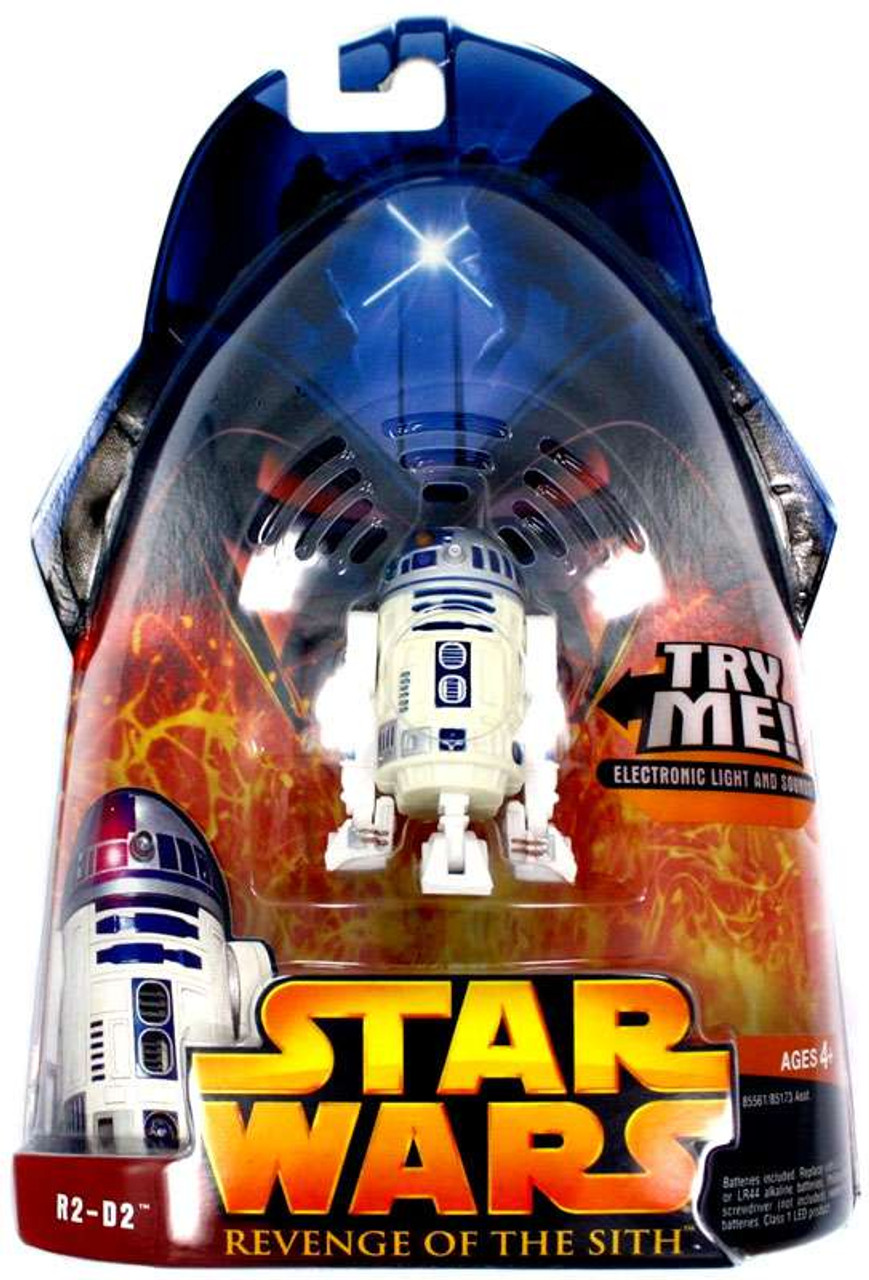 Star Wars Revenge Of The Sith 2005 R2 D2 3 75 Action Figure 48 Hasbro Toys Toywiz