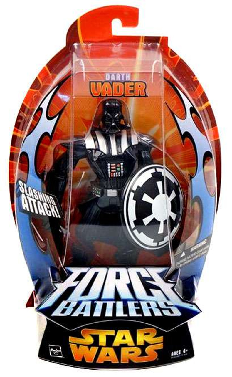 Star Wars Revenge Of The Sith Force Battlers Darth Vader Action Figure Hasbro Toys Toywiz