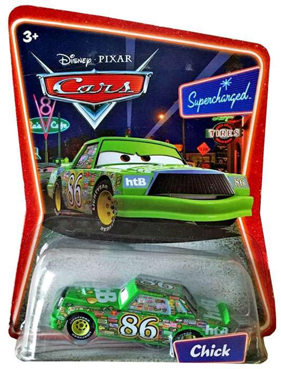 Disney Pixar Cars Supercharged Chick Hicks 155 Diecast Car Mattel
