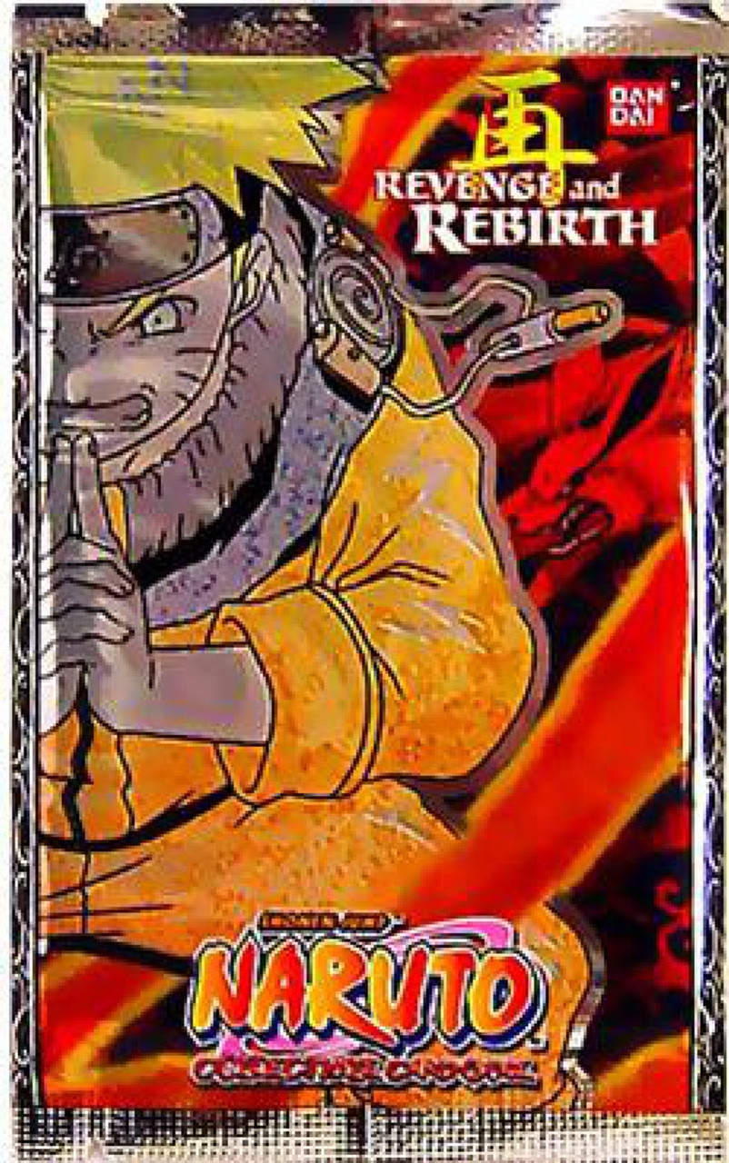 Naruto Card Game Revenge and Rebirth Booster Pack