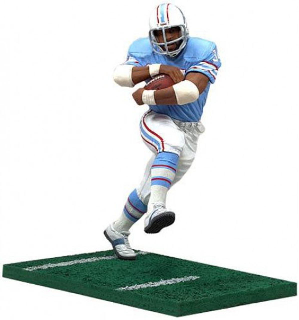cheap for discount 4ace5 6373e McFarlane Toys NFL Houston Oilers Sports Picks Legends Series 3 Earl  Campbell Action Figure [Blue Jersey]