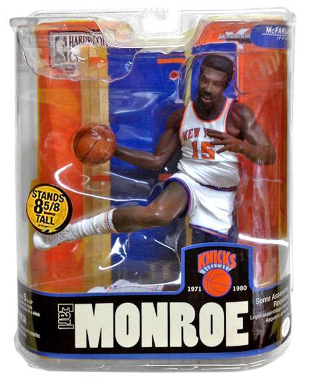 buy online 80004 03cb7 McFarlane Toys NBA New York Knicks Sports Picks Legends Series 3 Earl  Monroe Action Figure