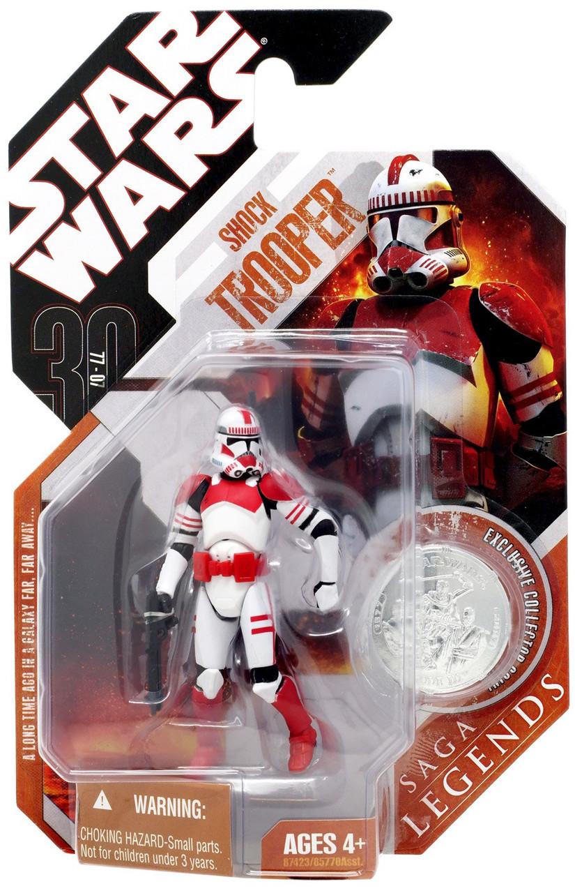Star Wars Episode III Greatest Battle Collection Shock Trooper 11 of 14 Figure