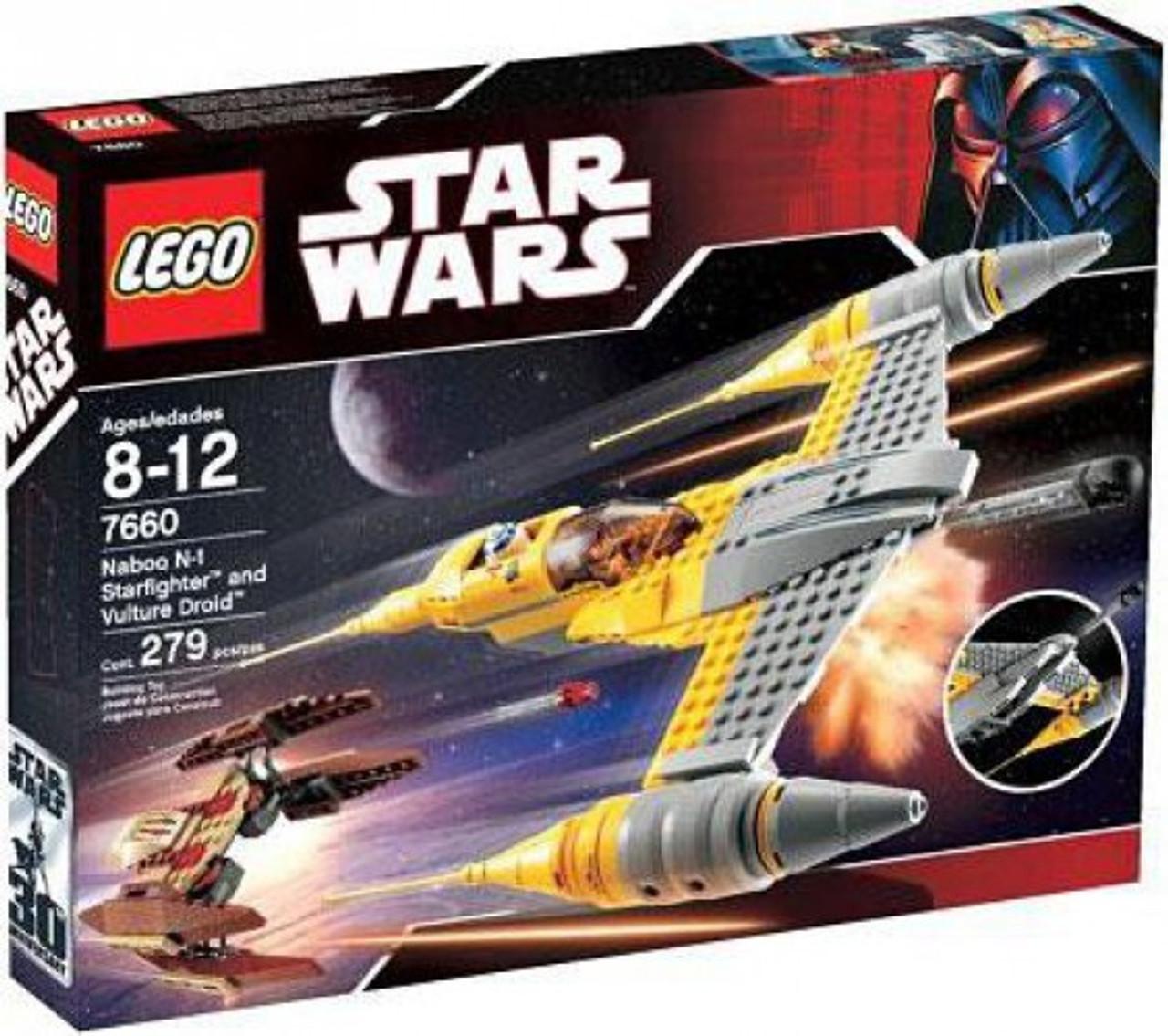 Naboo Fighter Pilot LEGO Minifigure Lot Star Wars 7660