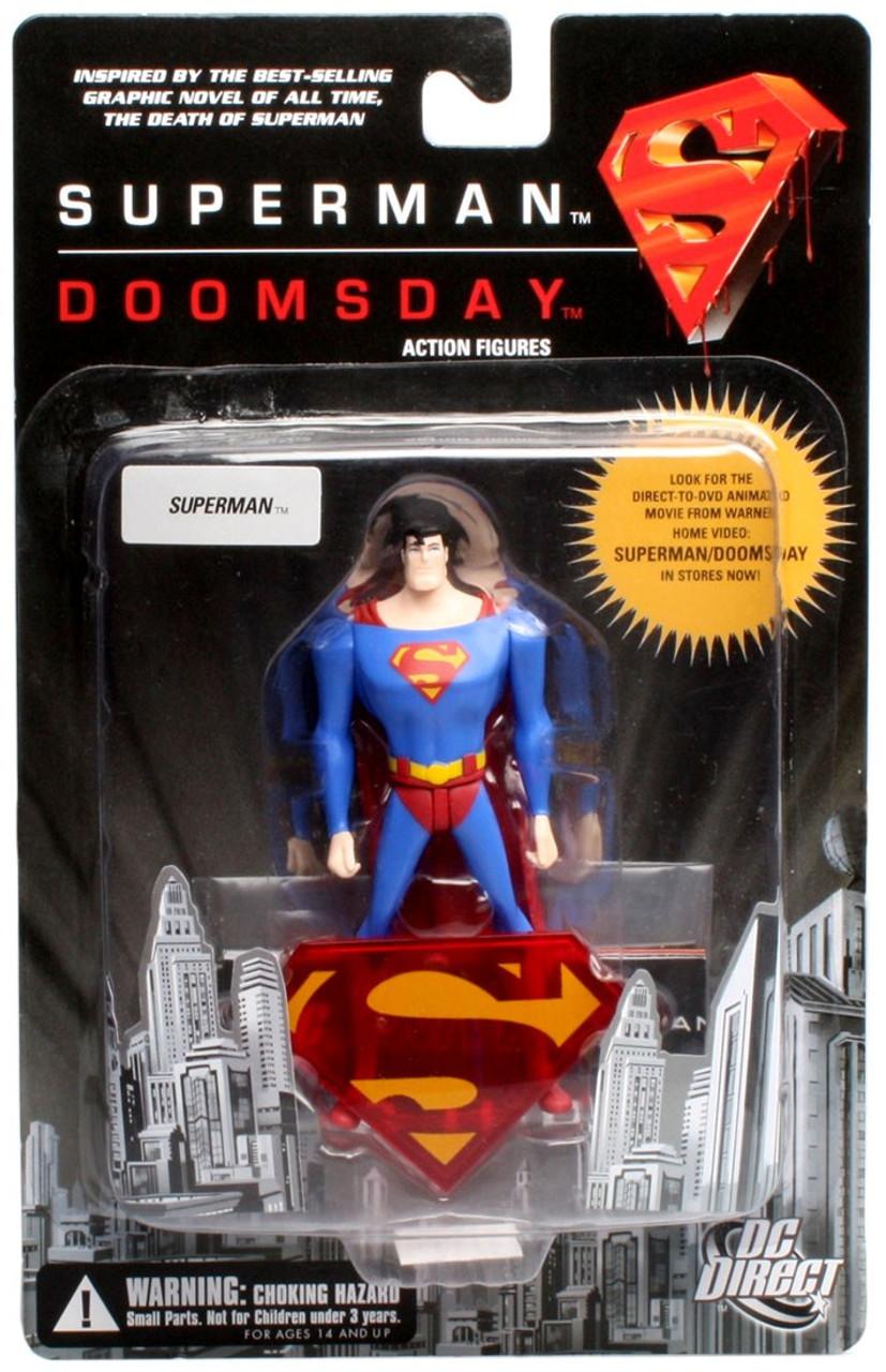 Dc Superman Superman Doomsday Superman Action Figure Dc Direct