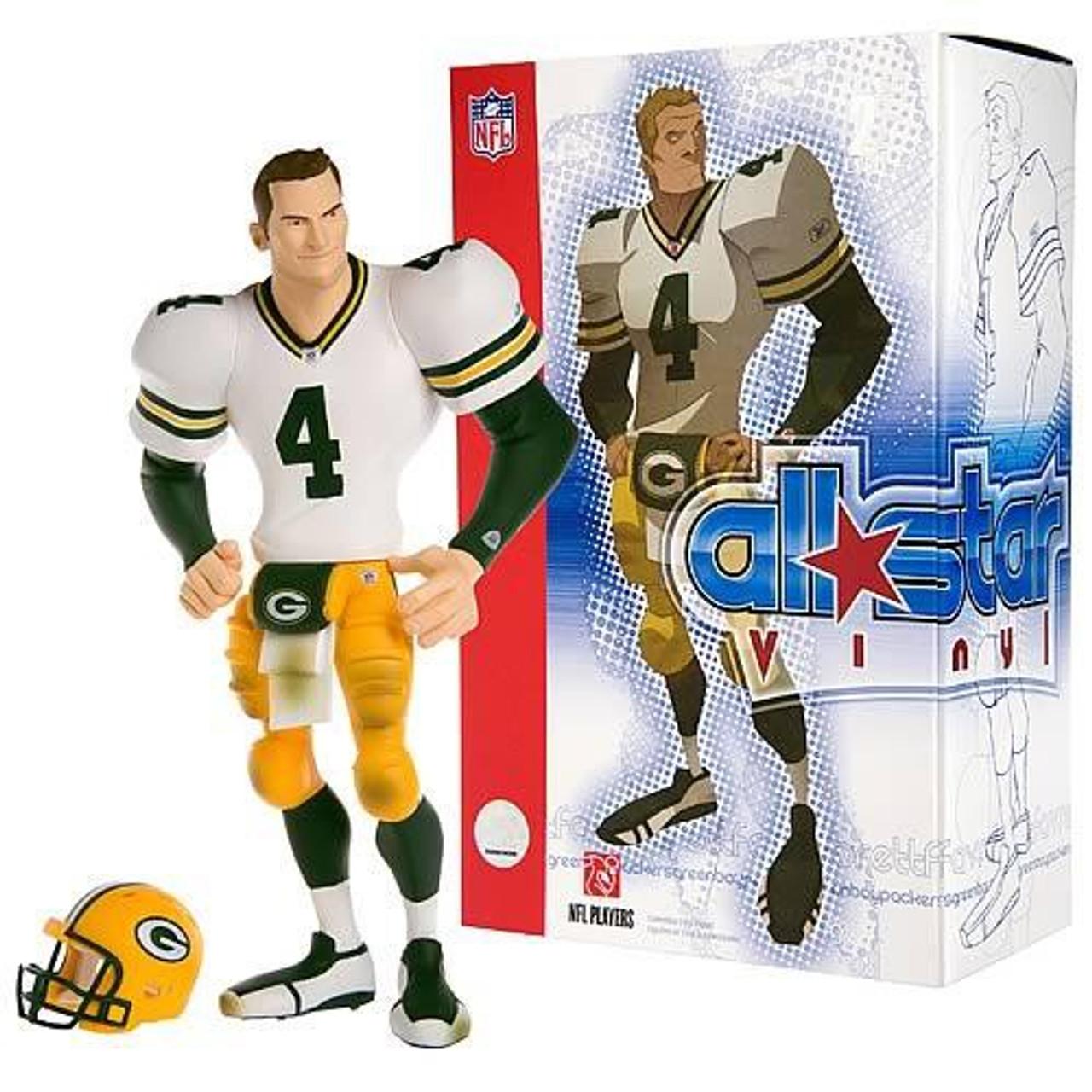 best website 7741e a1358 NFL Green Bay Packers All Star Vinyl Brett Favre Vinyl ...