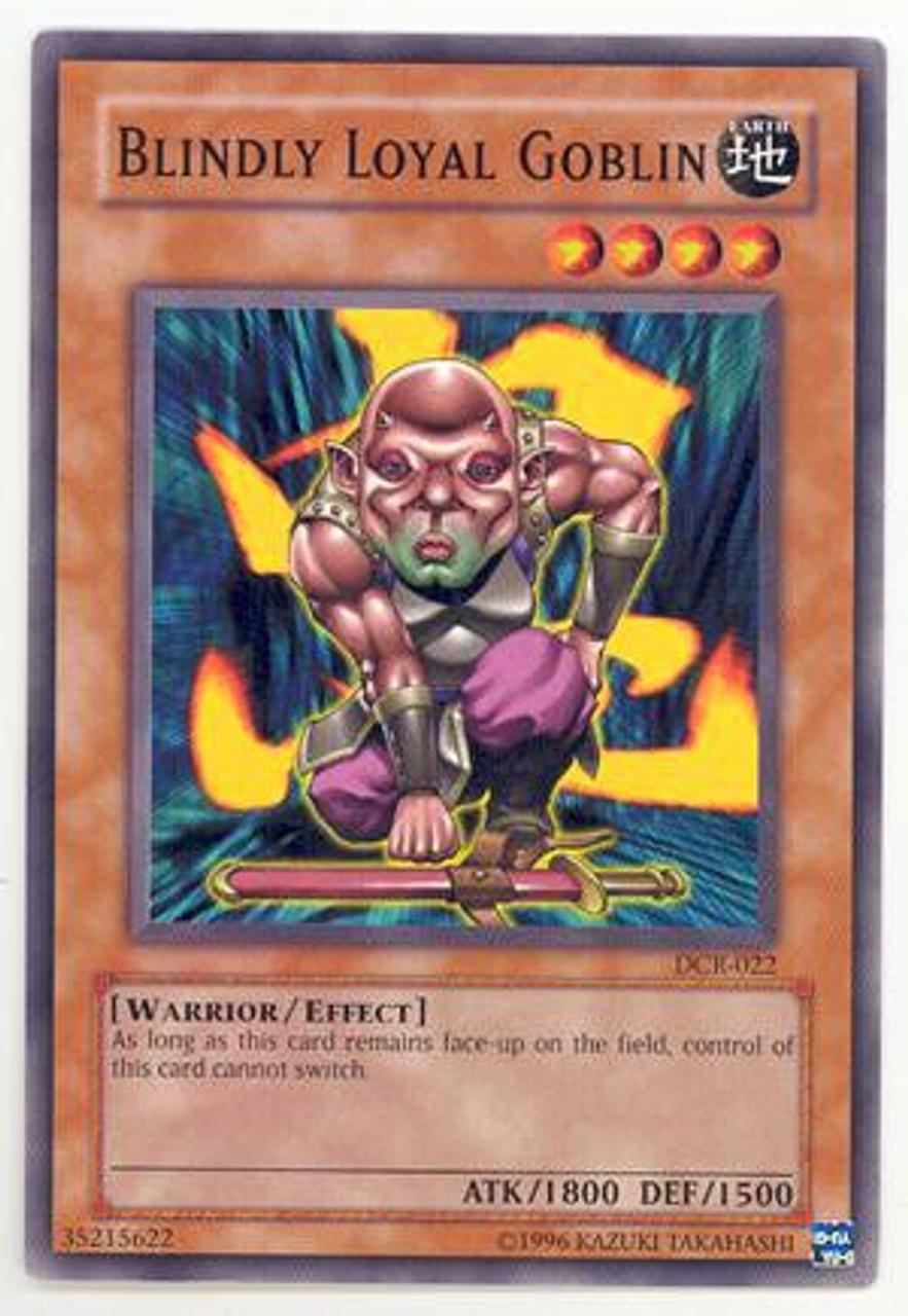 YuGiOh Dark Crisis Common Blindly Loyal Goblin DCR-022