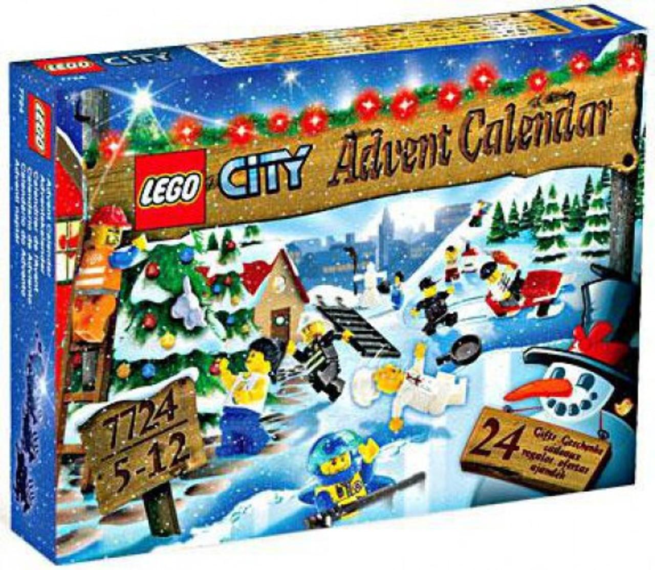 Lego City 2008 Advent Calendar Set 7724 Toywiz
