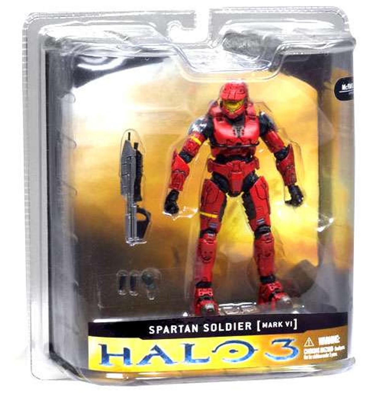 Halo McFarlane Action Figure Series 2 Olive Spartan Soldier EOD