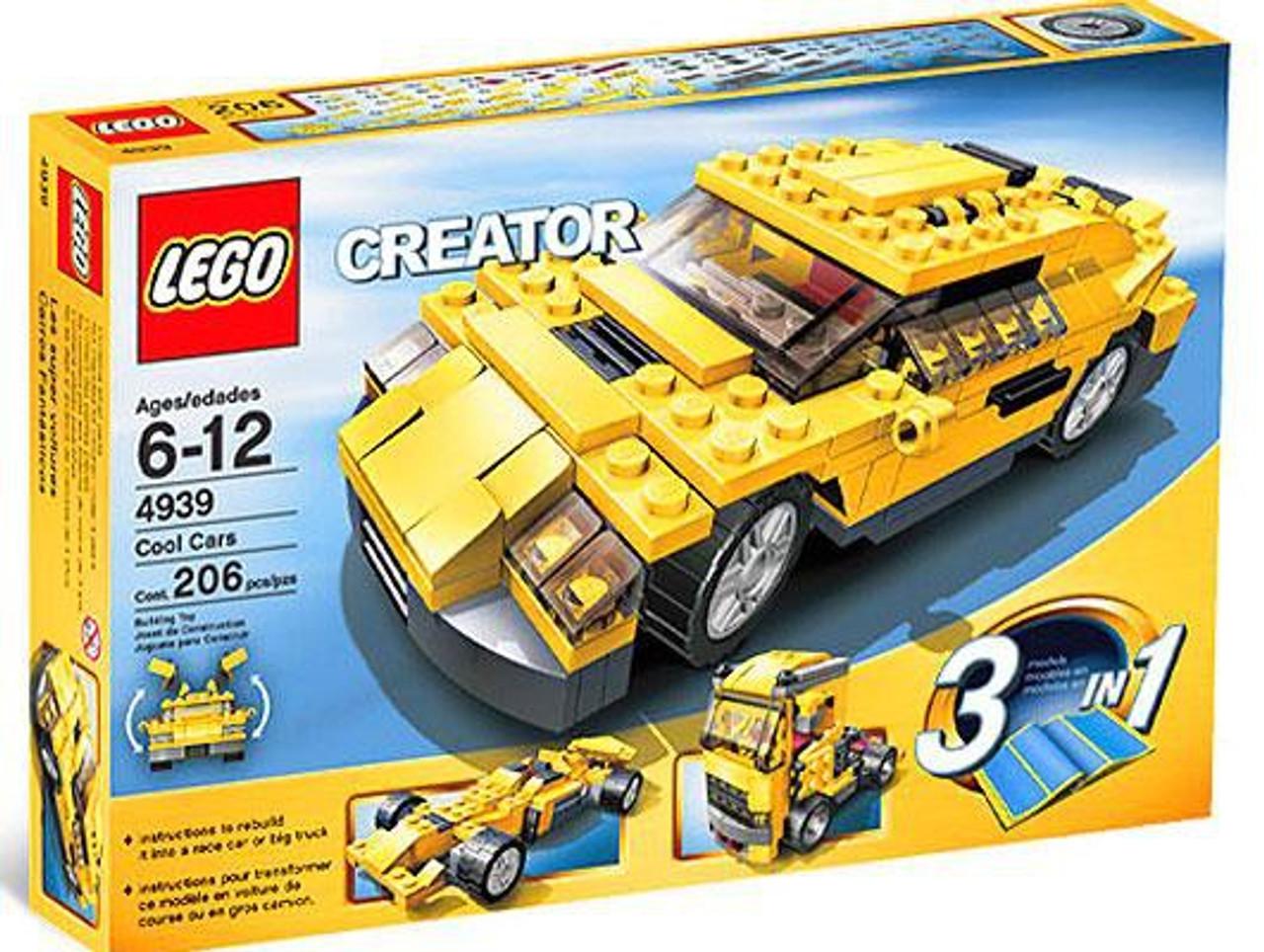 Lego Creator Cool Cars Set 4939