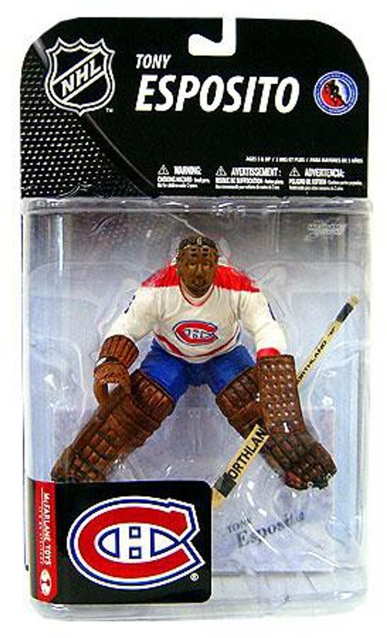 McFarlane Toys NHL Montreal Canadiens Sports Picks Series 19 Tony Esposito Action  Figure - ToyWiz 7eaf09116