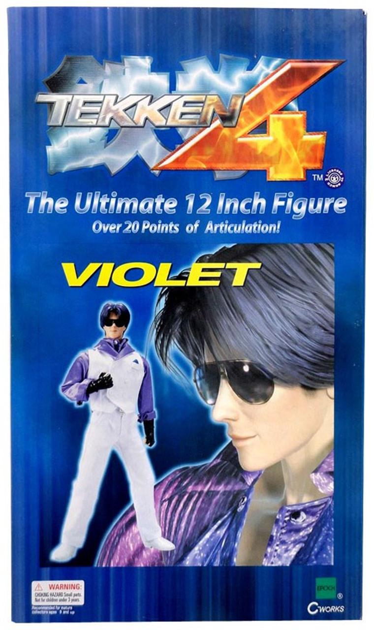Tekken 4 Violet 12-Inch Collectible Figure