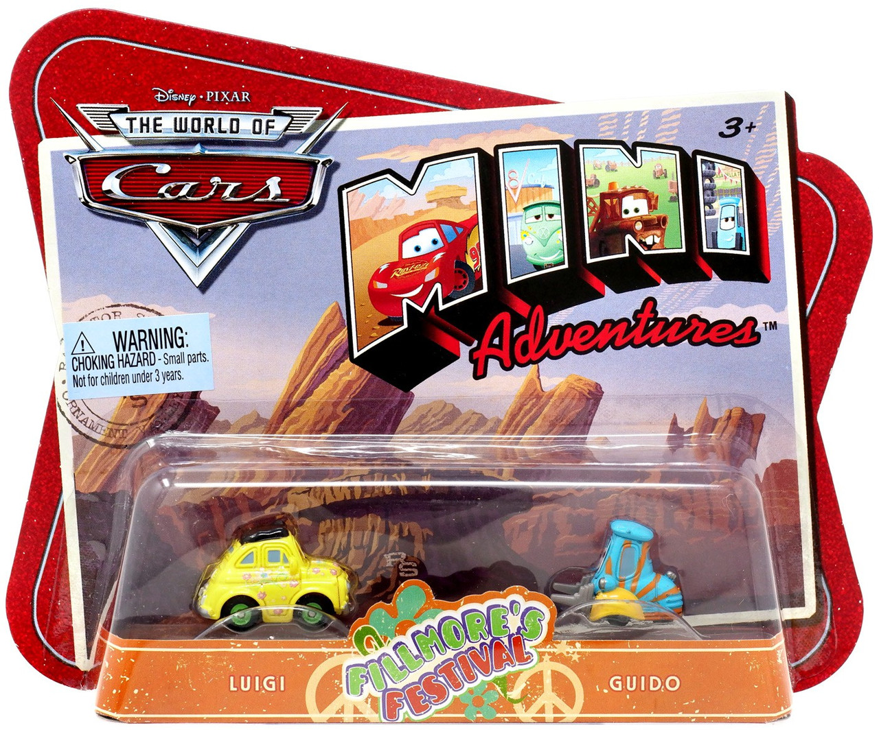 Guido Tractor Character Vehicle Set From Disney Cars Luigi Play