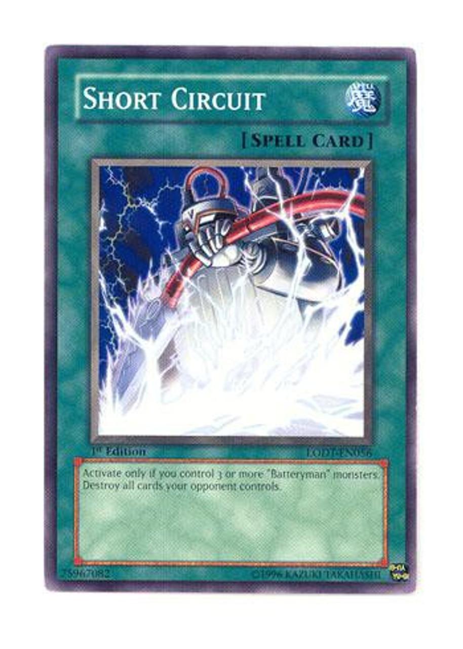 yugioh gx light of destruction single card common short circuit lodt rh toywiz com