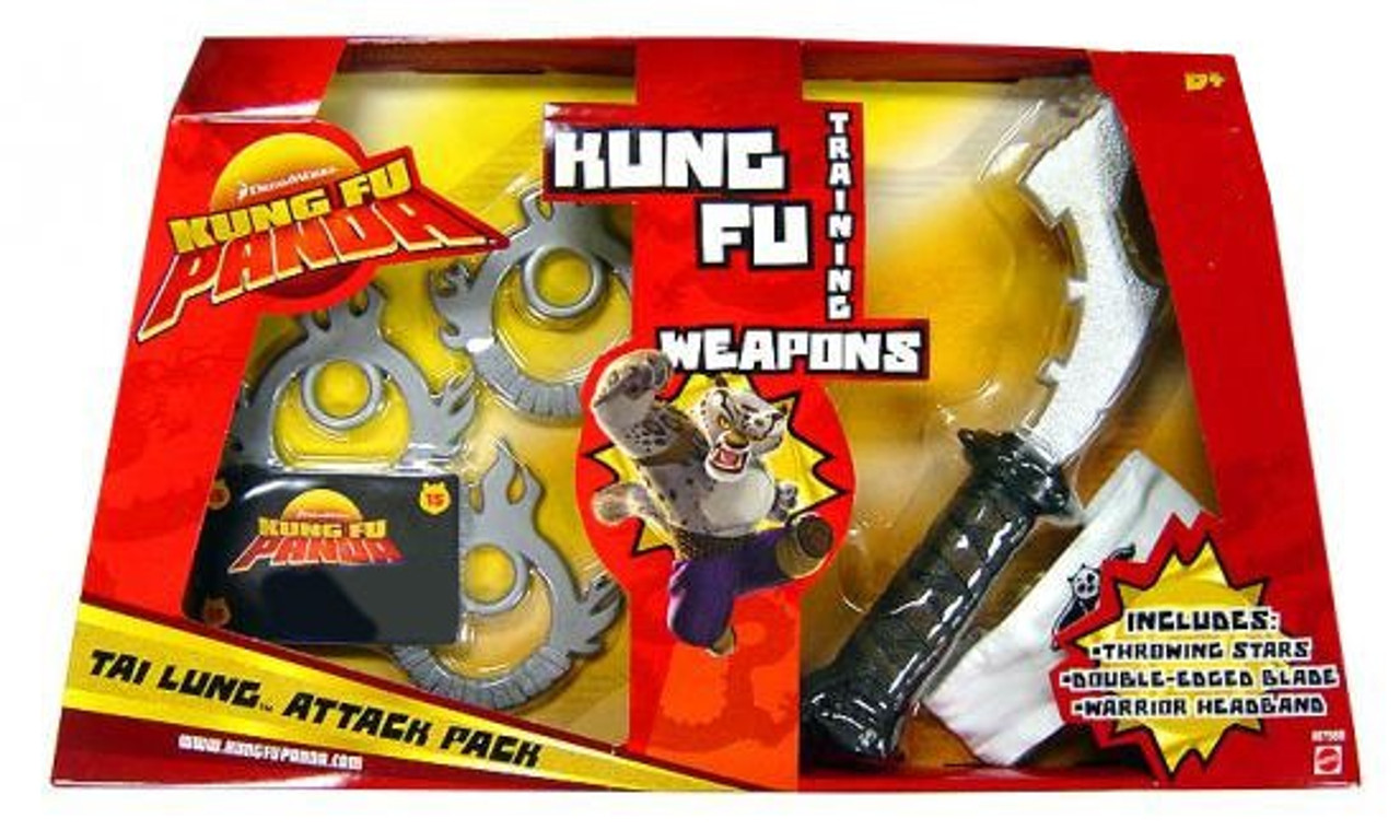 Kung Fu Panda Training Weapons Tai Lung Attack Pack Exclusive Roleplay Toy Mattel Toys Toywiz