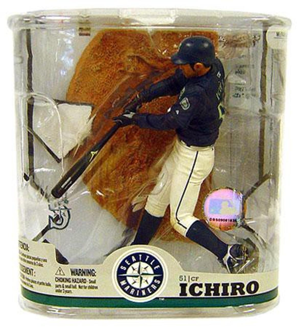 960219aca2 McFarlane Toys MLB Seattle Mariners Sports Picks Series 22 Ichiro Suzuki  Action Figure [No Baseball