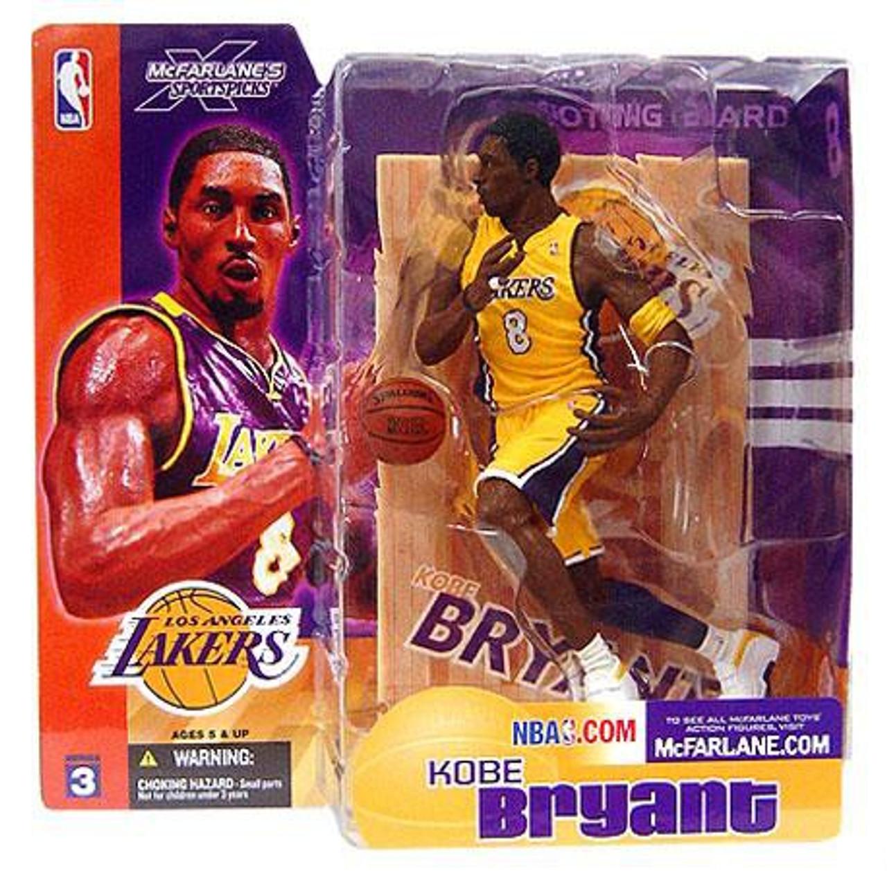McFarlane Toys NBA Los Angeles Lakers Sports Picks Series 3 Kobe ...