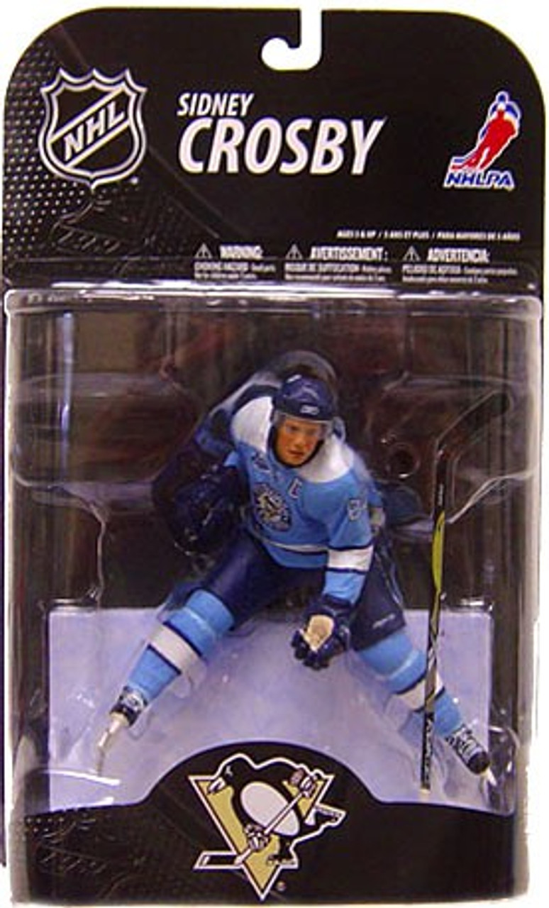 new styles 93374 b0e73 McFarlane Toys NHL Pittsburgh Penguins Sports Picks Series 21 Sidney Crosby  Action Figure [Powder Blue Jersey]