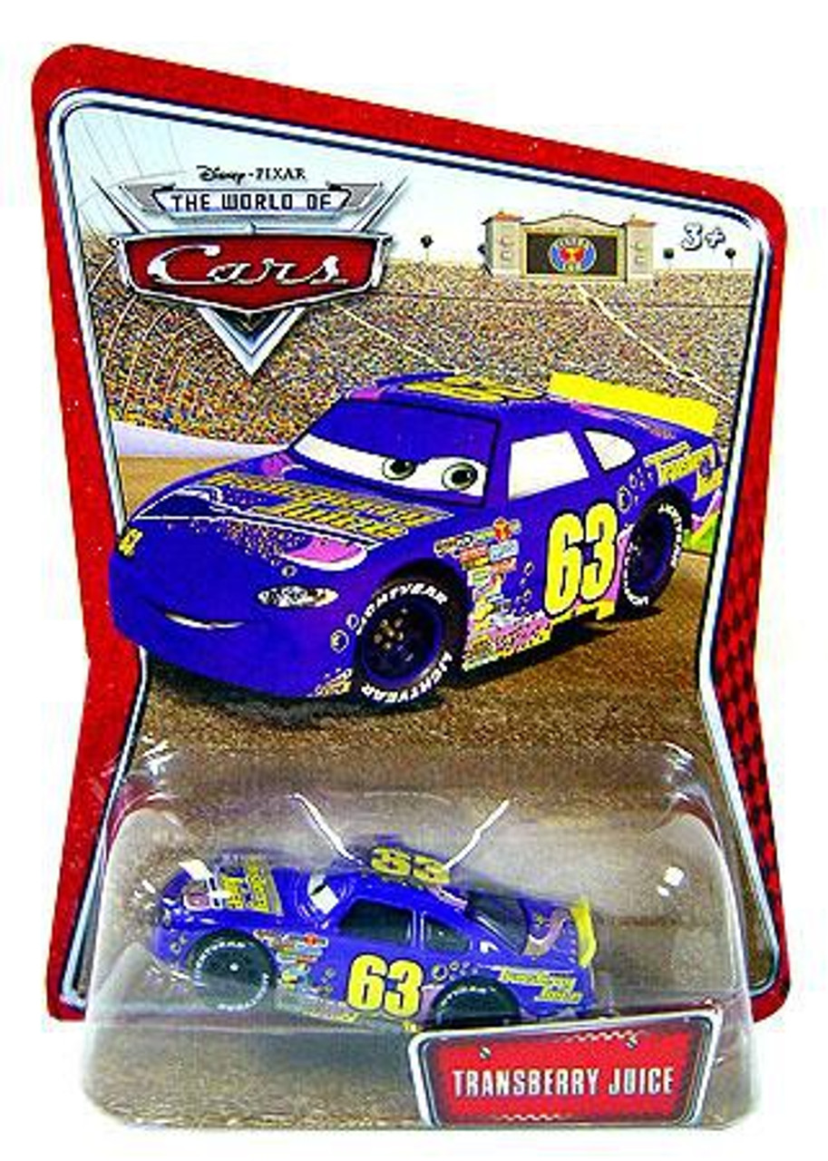 Disney Store Cars Transberry Juice  Die Cast New  without the store package
