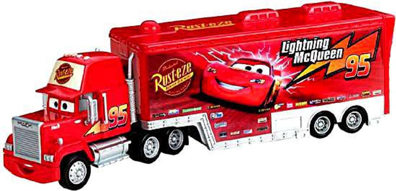 Højmoderne Disney Pixar Cars Deluxe Mack Hauler 155 Vehicle Mattel Toys - ToyWiz YS-44