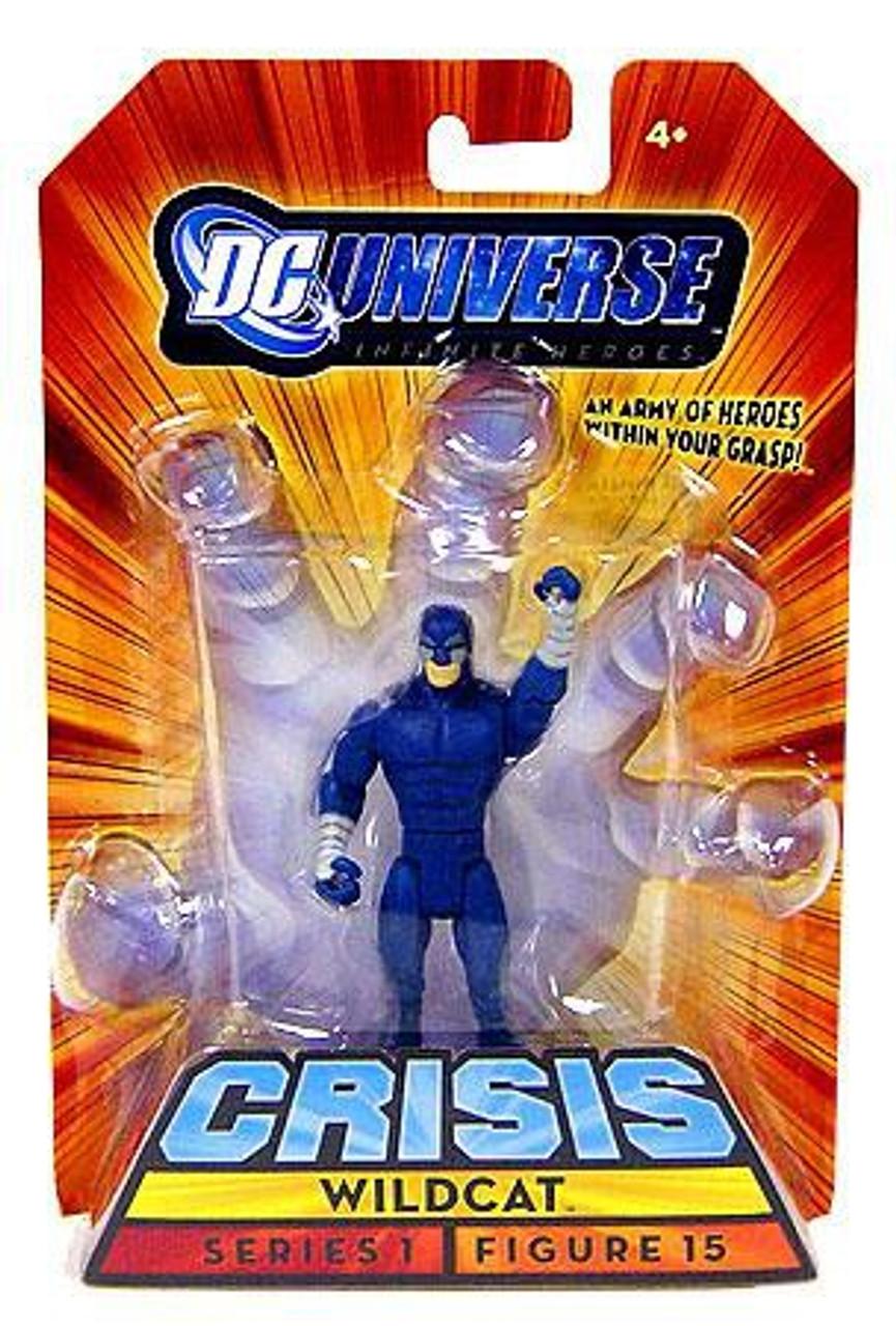 """Wildcat DC Universe Infinite Heroes Crisis 3.75/"""" Series 1 Action Figure 15"""