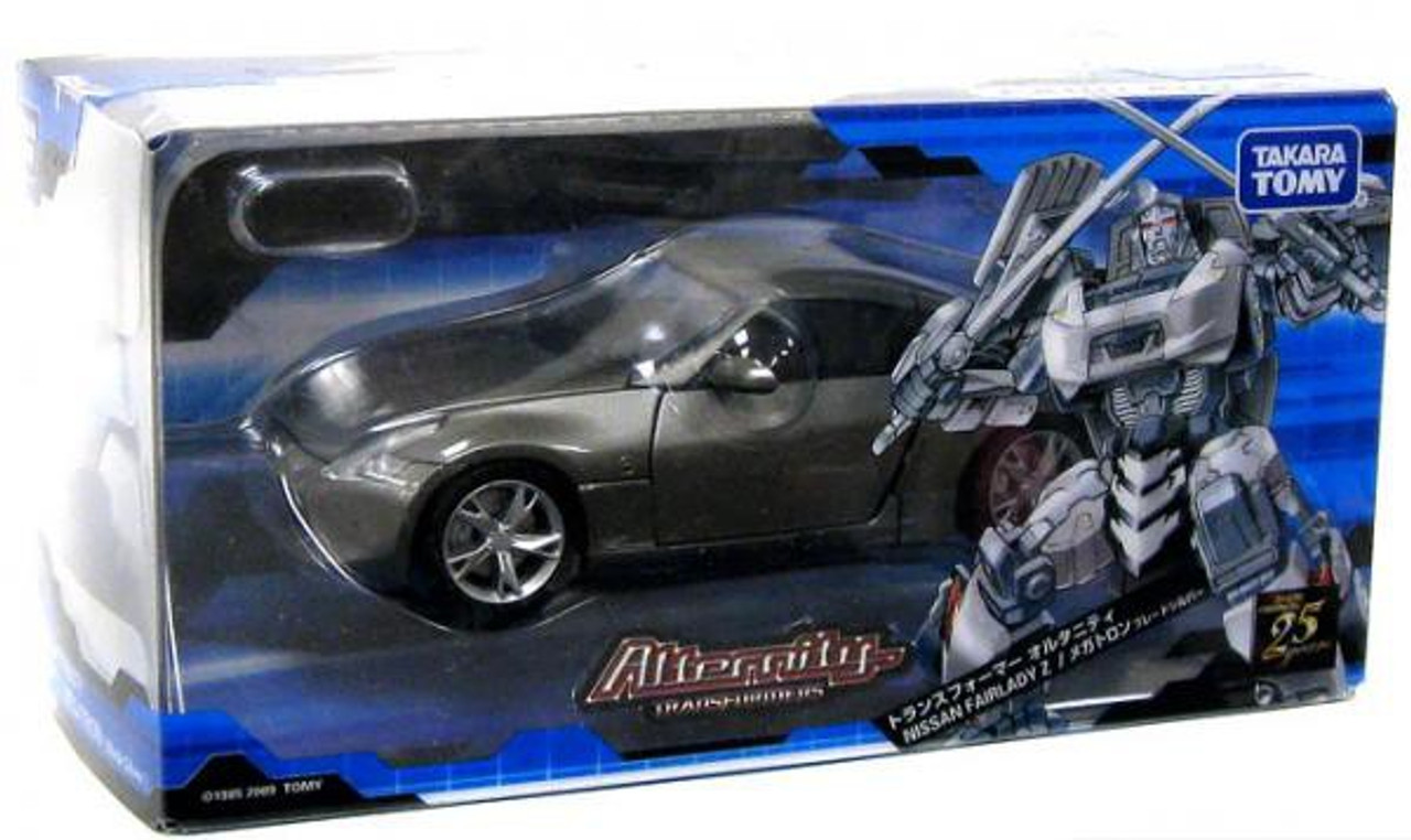 Takara Diamond Black Transformers Alternity A-02 Nissan Fairlady Z Megatron