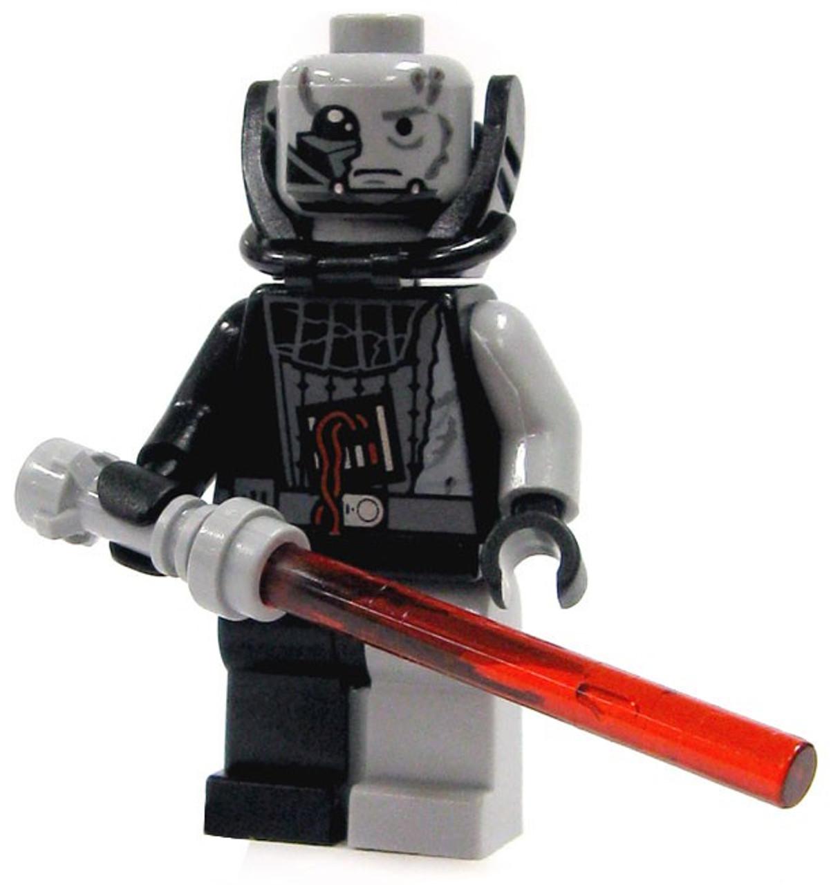 lego wars battle damaged darth vader minifigure toywiz