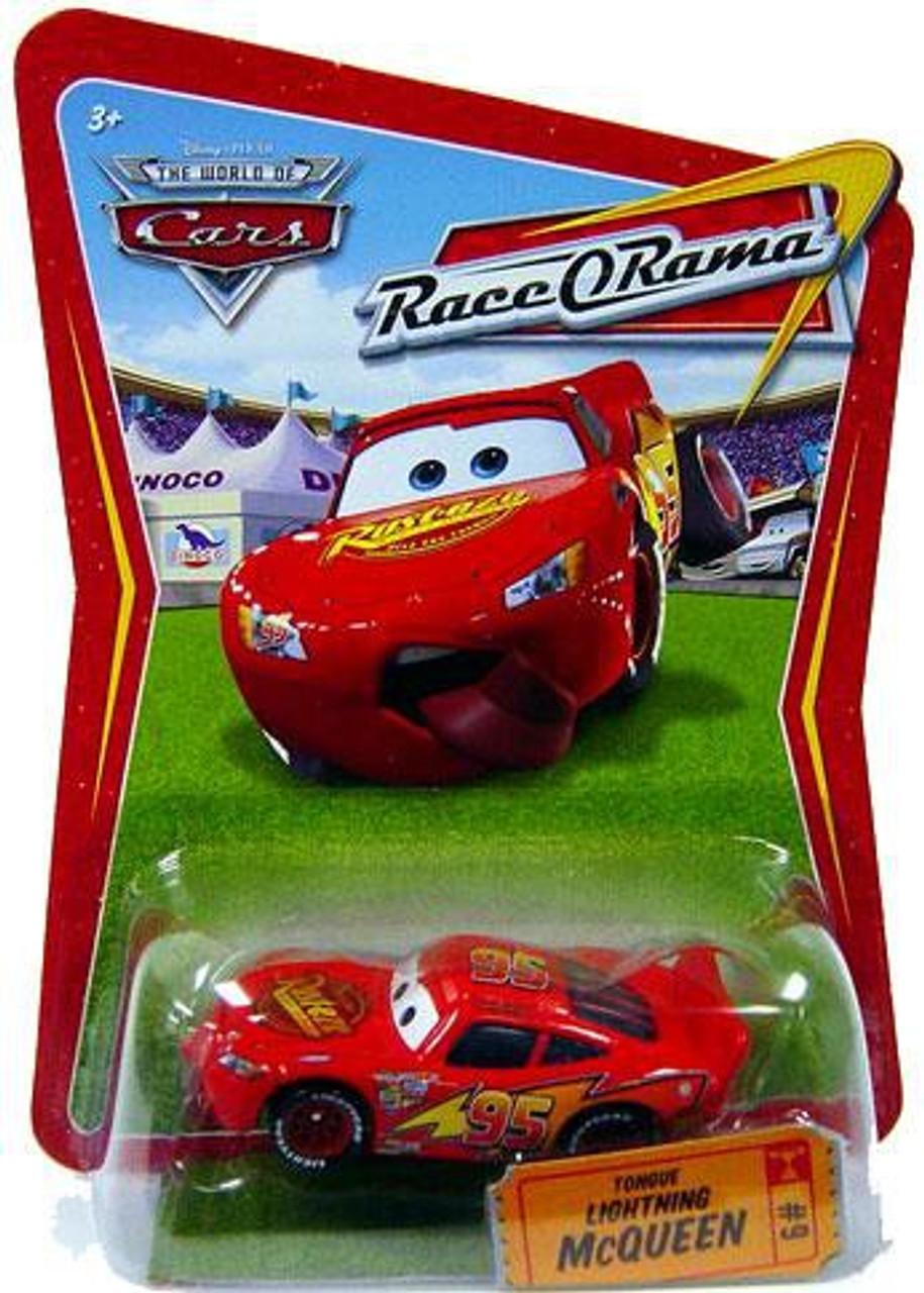 Disney Pixar Cars Movie Race-O-Rama Cruisin/' Lightning McQueen Toy Car