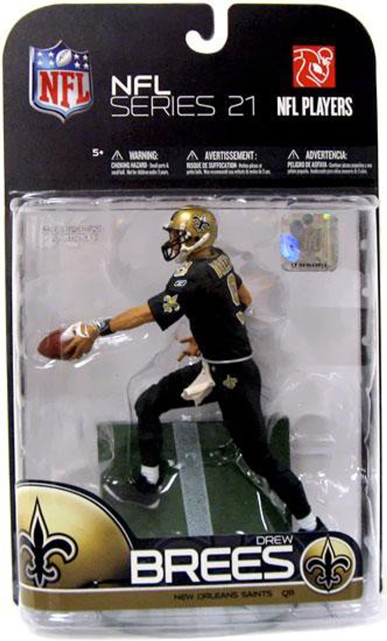 1b53045d032 McFarlane Toys NFL New Orleans Saints Sports Picks Series 21 Drew Brees  Action Figure [All