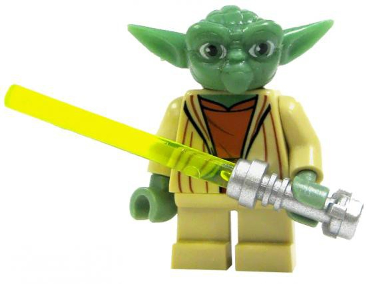 lego star wars loose yoda minifigure loose  toywiz