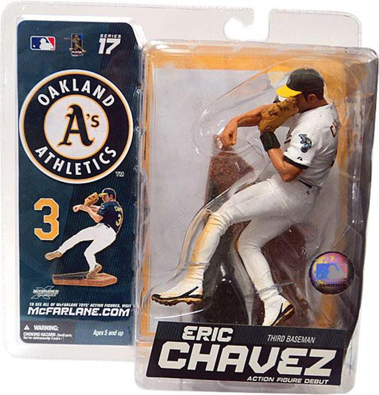 McFarlane MLB Series 10 Mark Mulder Chase Variant White Action Figure