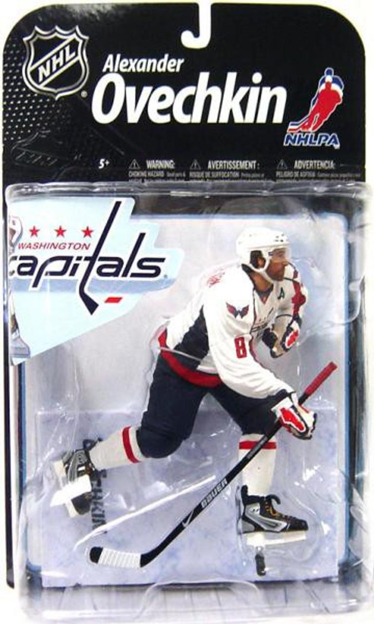 e1923d5dc McFarlane Toys NHL Washington Capitals Sports Picks Series 22 Alexander  Ovechkin Action Figure White Jersey - ToyWiz