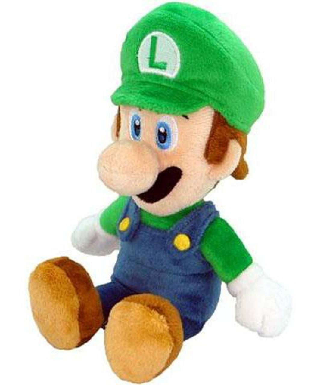 Super Mario 9 Inch Vinyl Figure Luigi