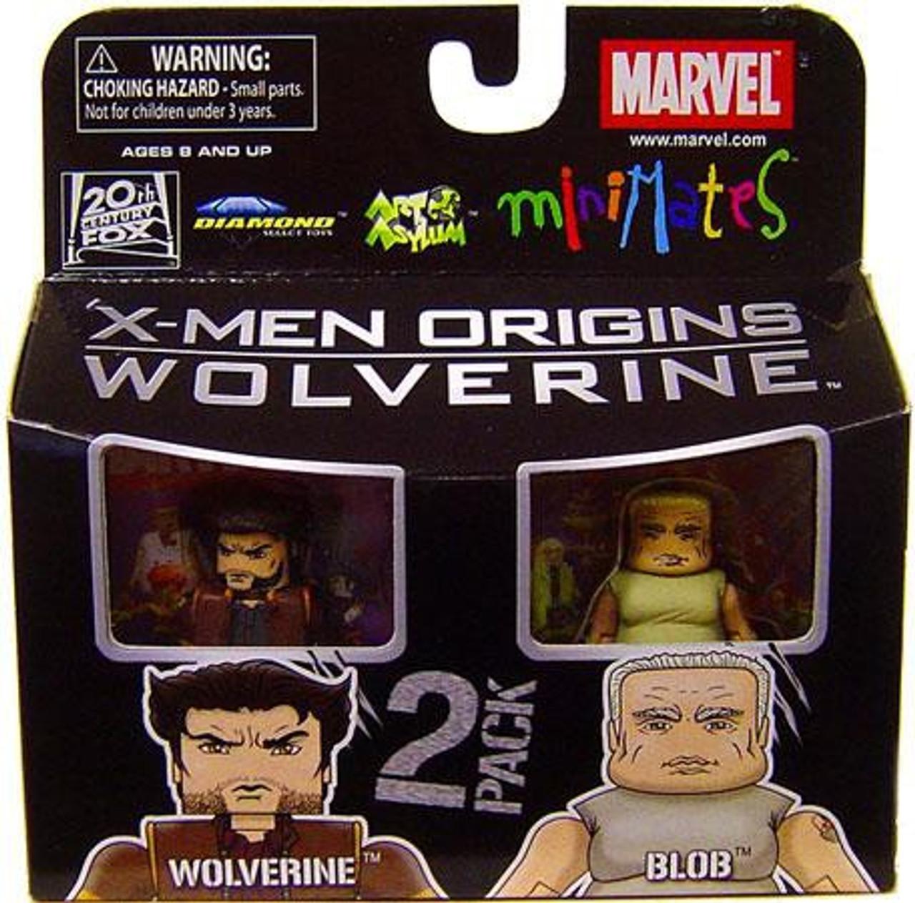 Wolverine Movie Blob Marvel Minimates Series 26 X-Men Origins