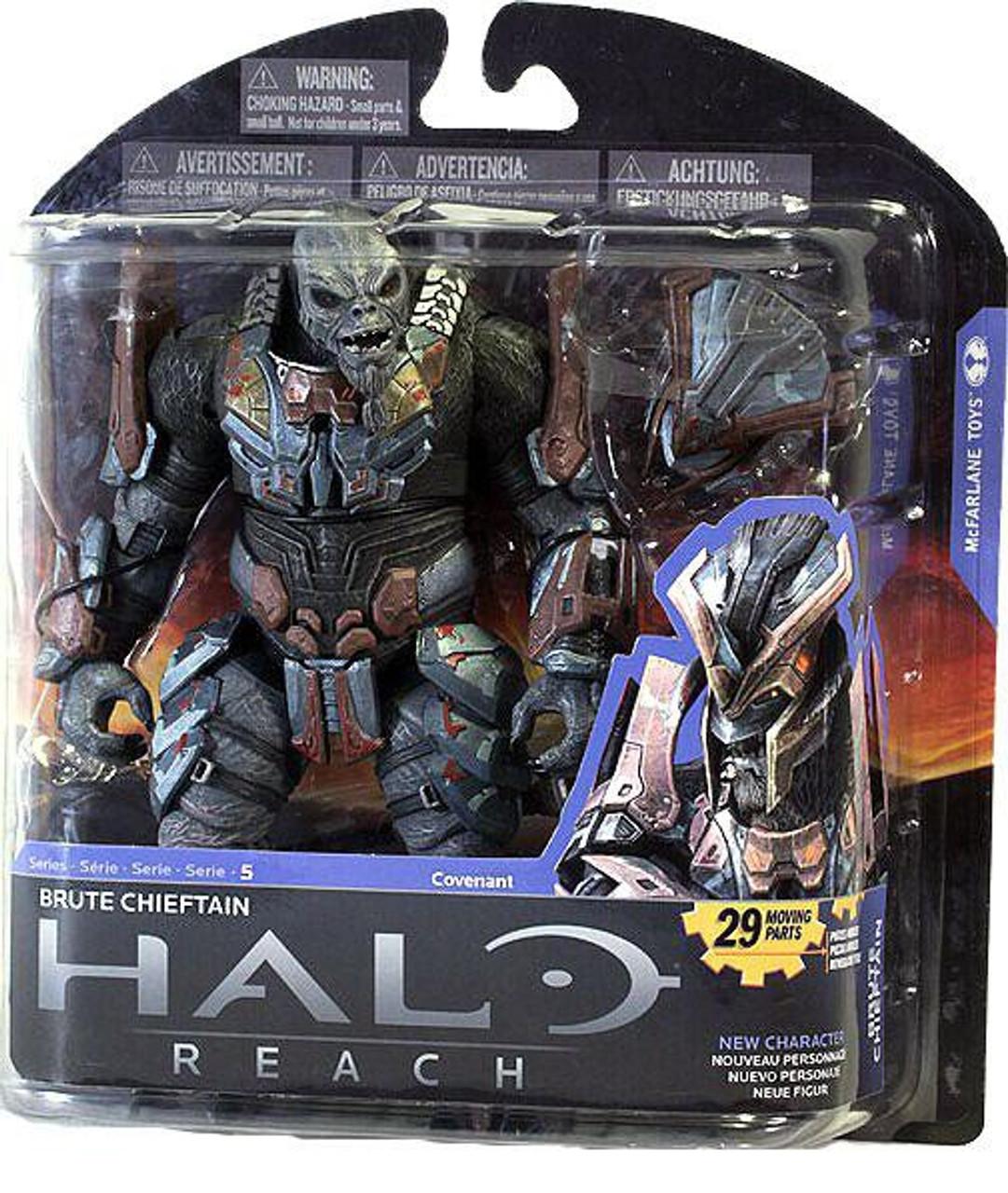 McFarlane Halo Reach Series 4 Brute Minor Covenant