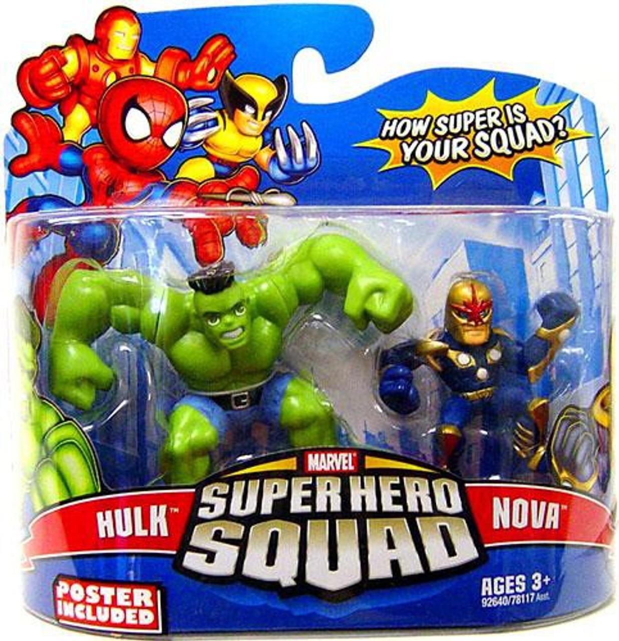 Marvel Super Hero Squad Grey Hulk Toys R Us Exclusive
