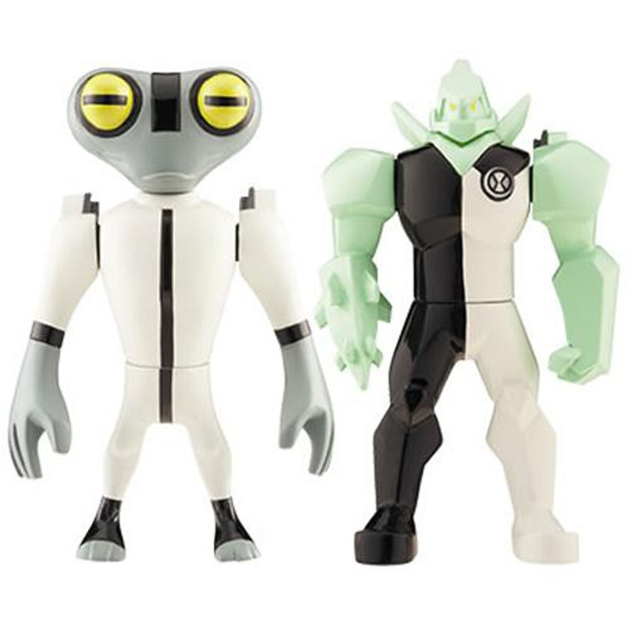 Ben 10 Alien Force Alien Creation Chamber Diamondhead & Grey Matter Mini  Figure 2-Pack