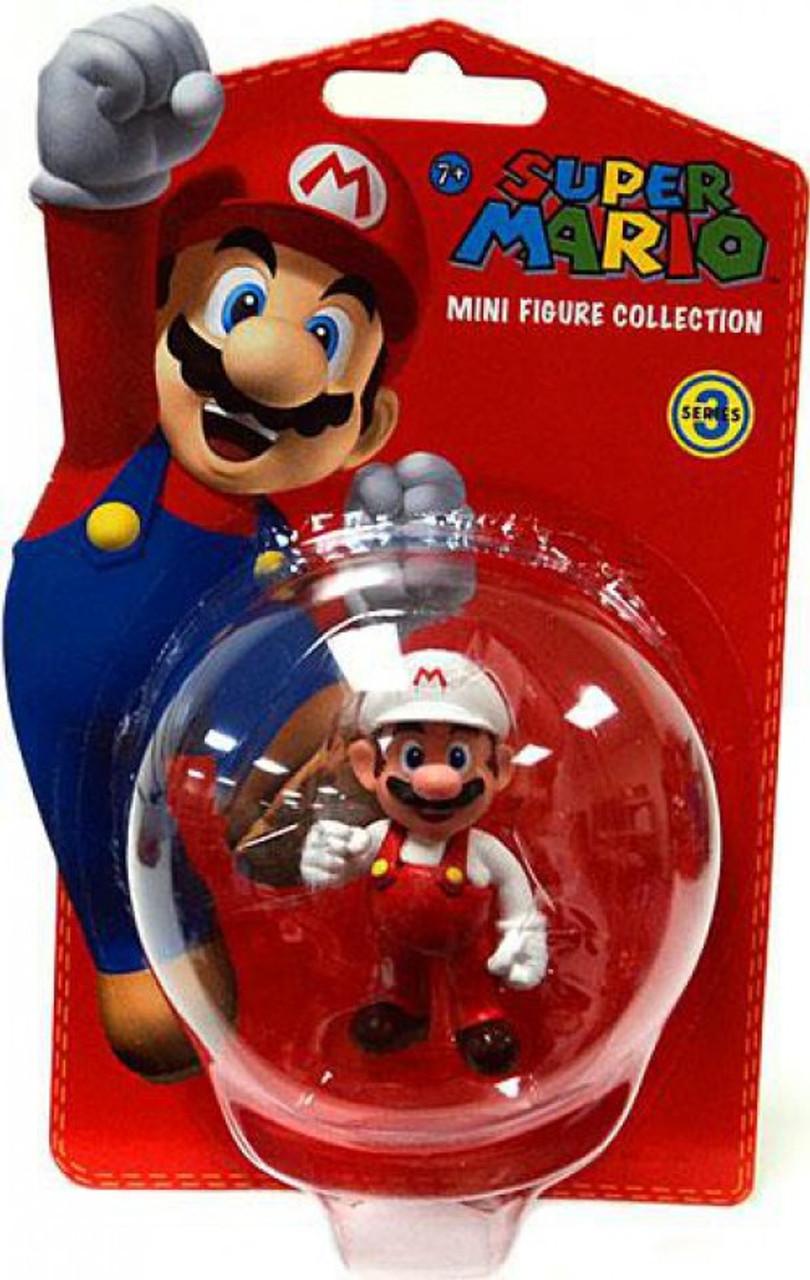 Loose Super Mario Fire Mario 2-Inch PVC Figure