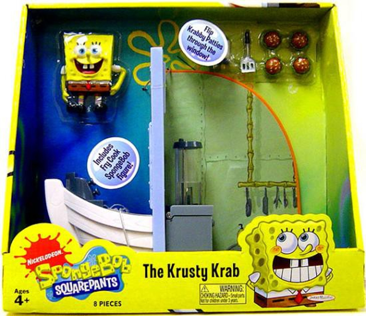 Spongebob Squarepants The Krusty Krab Playset