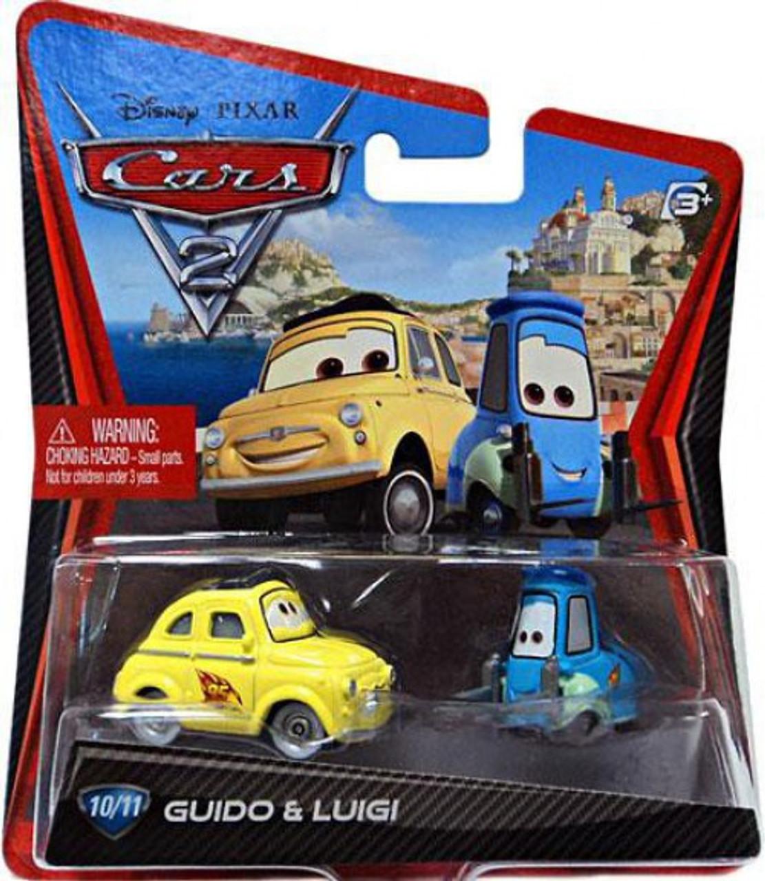 Disney Pixar Cars Cars 2 Main Series Guido Luigi 155 Diecast Car