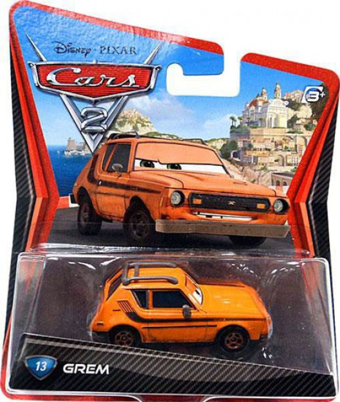Disney Pixar Cars Cars 2 Main Series Grem 155 Diecast Car Mattel