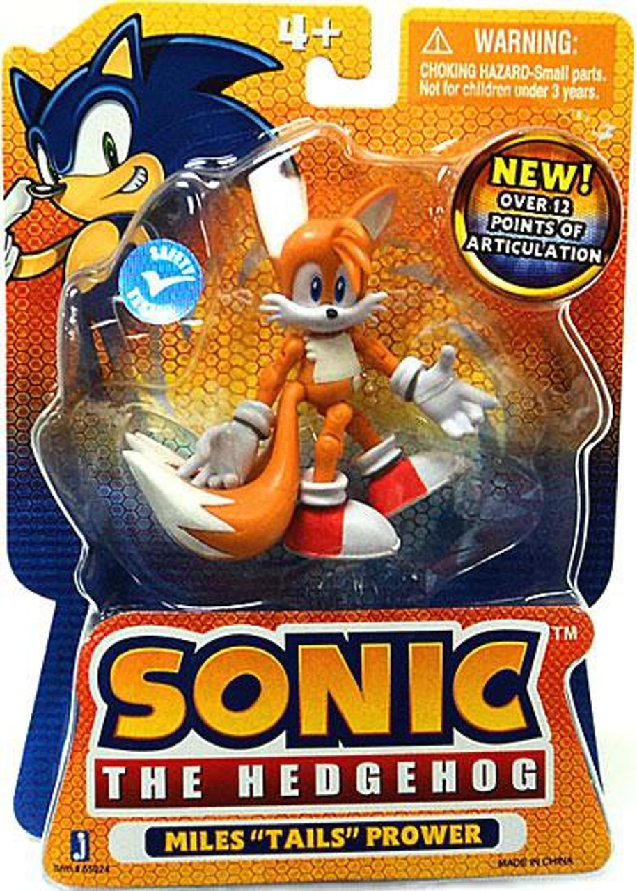 Sonic The Hedgehog Tails 3 5 Action Figure Miles Prower Jazwares Toywiz