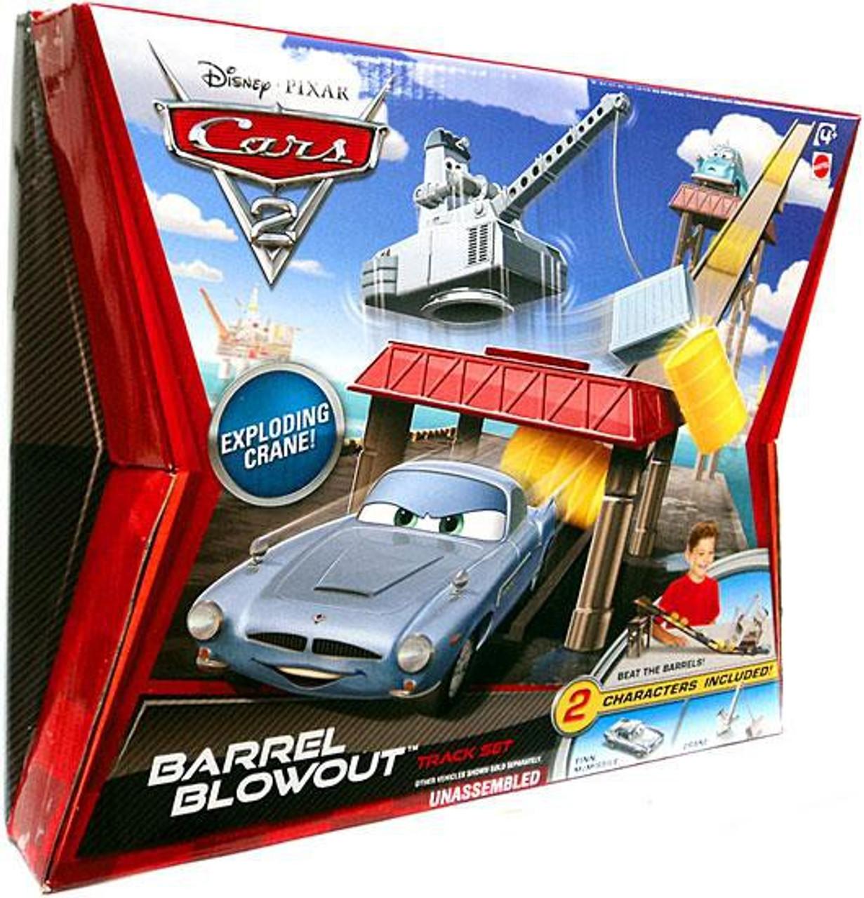 Disney Pixar Cars Cars 2 Playsets Barrel Blowout Diecast Car Track