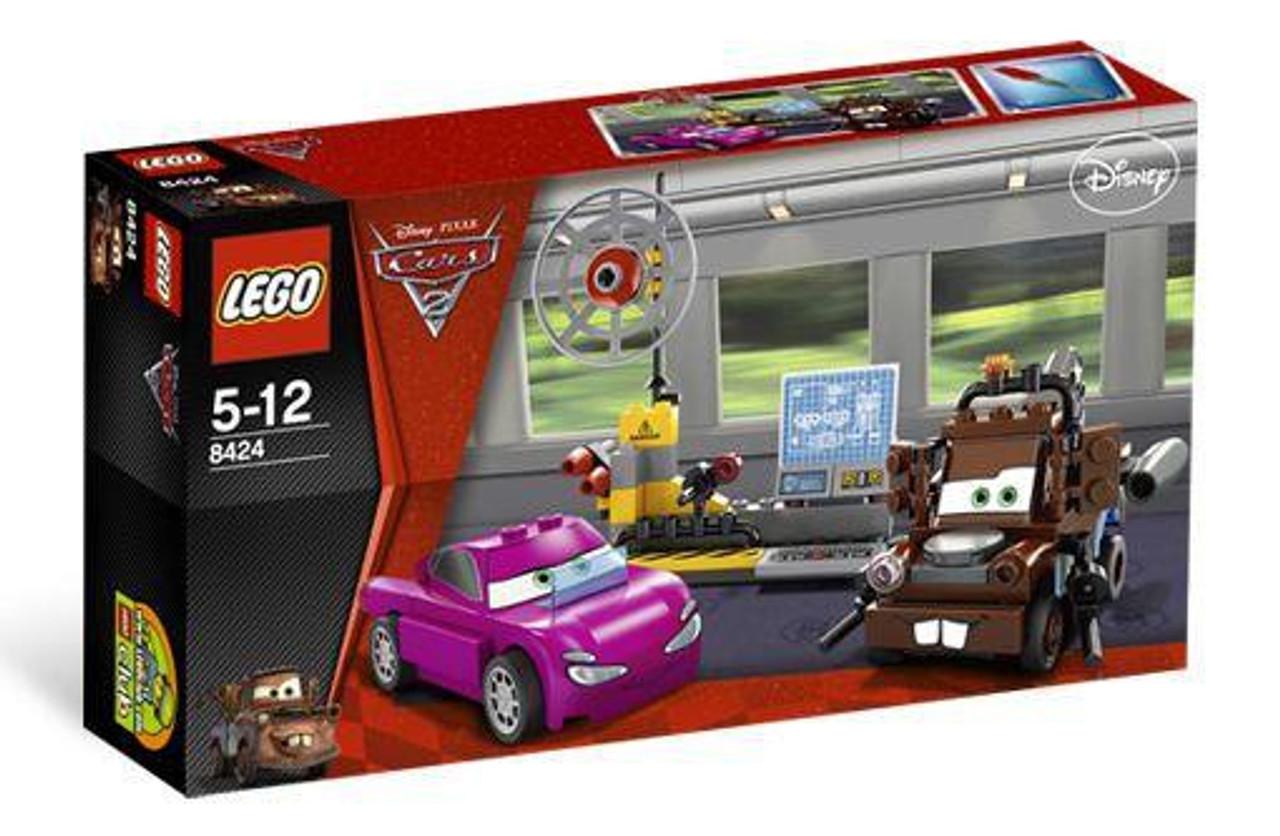 Lego Disney Pixar Cars Cars 2 Maters Spy Zone Set 8424 Toywiz