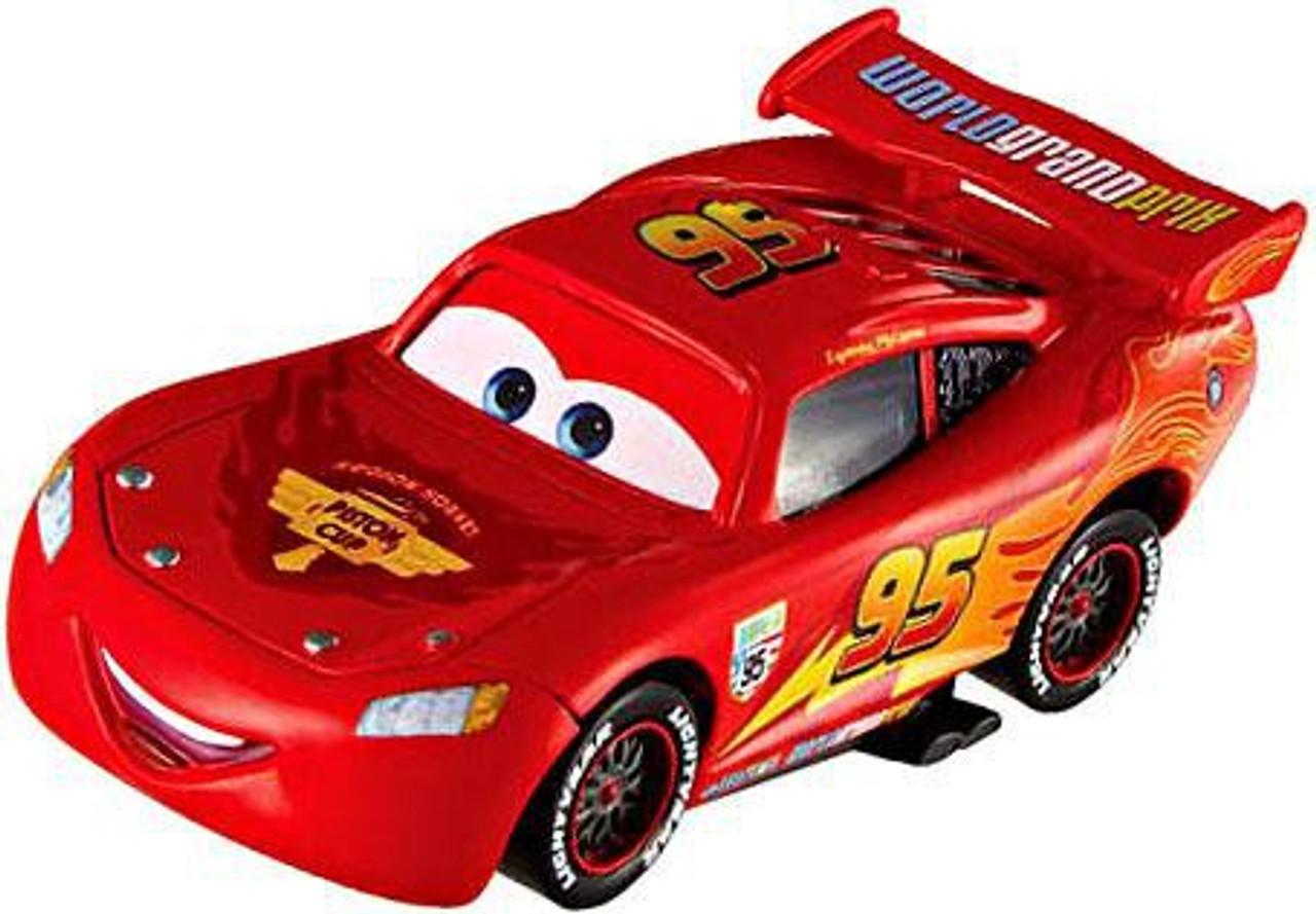 Disney Pixar Cars Cars 2 Double Decker Bus, McQueen Mater ...