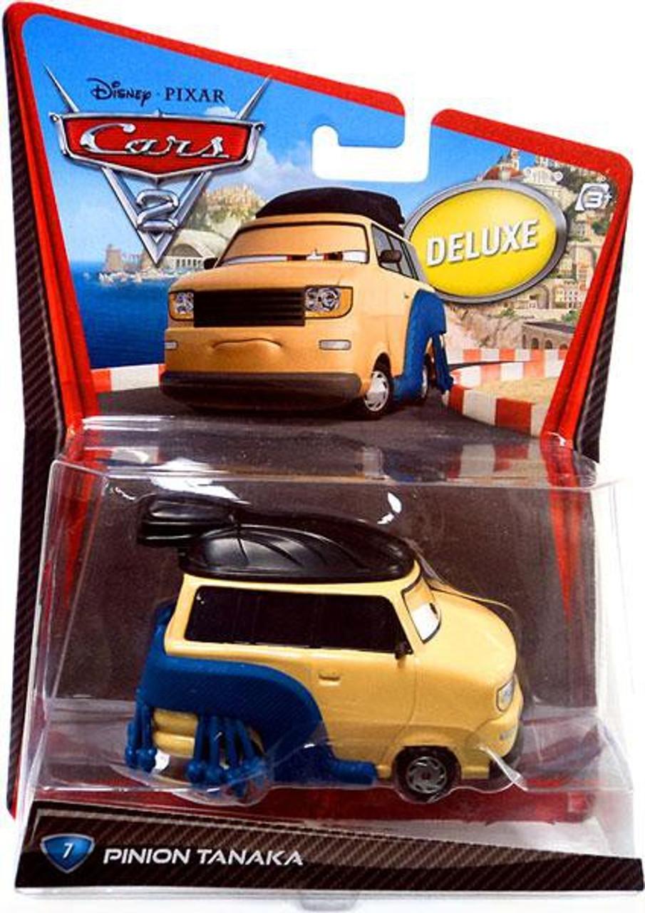 Disney Pixar Cars Cars 2 Deluxe Oversized Pinion Tanaka 155 Diecast Car 7 Mattel Toys Toywiz
