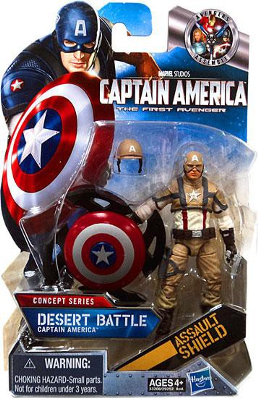 Captain America The First Avengers Fortress Assault Mission Figure